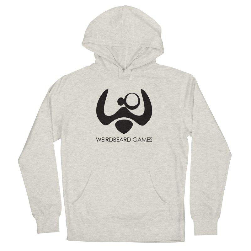 WeirdBeard Games Logo Black Men's Pullover Hoody by WeirdBeard Games Shop