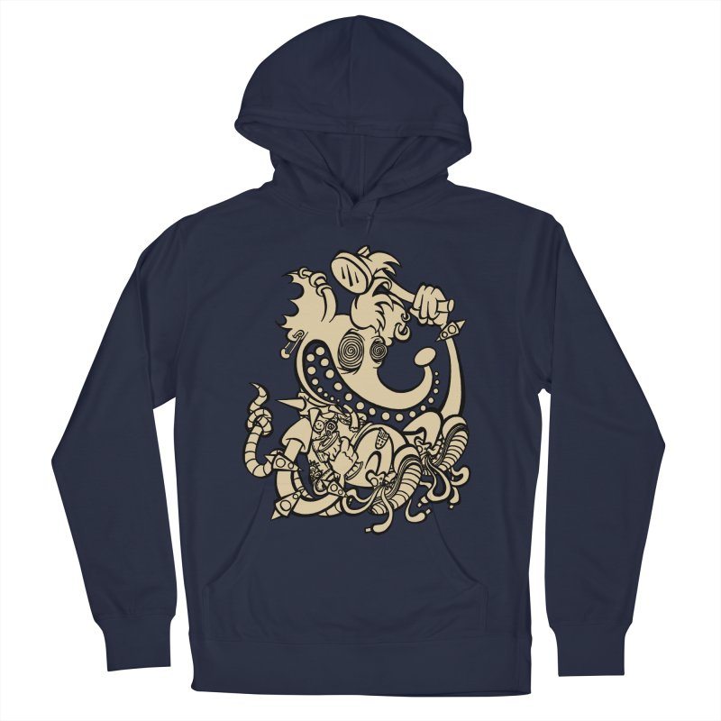 Jimmy's Rat Men's Pullover Hoody by WEIRDLY RECORDS