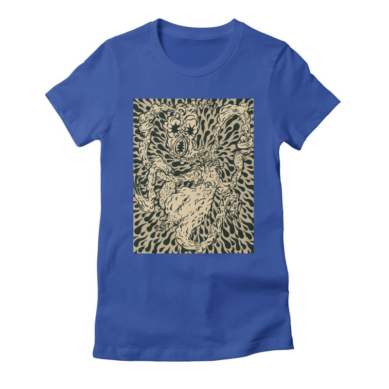 Jimmy's Creep Women's Fitted T-Shirt by WEIRDLY RECORDS