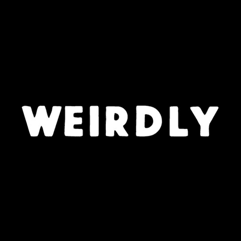 WEIRDLY LOGO T SHIRT by WEIRDLY RECORDS
