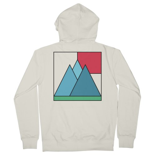 image for Simply mountains minimalistic nature design
