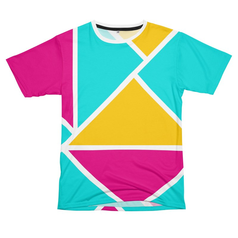 Summertime in the 80s in Men's T-Shirt Cut & Sew by WeirdPeople's ArtistShop