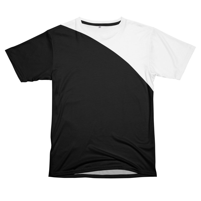 Elegant Black and White Men's Cut & Sew by WeirdPeople's ArtistShop