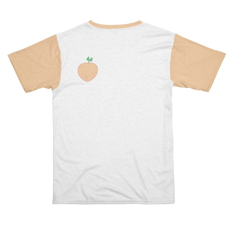 Peachy (Small version) Men's Cut & Sew by WeirdPeople's ArtistShop