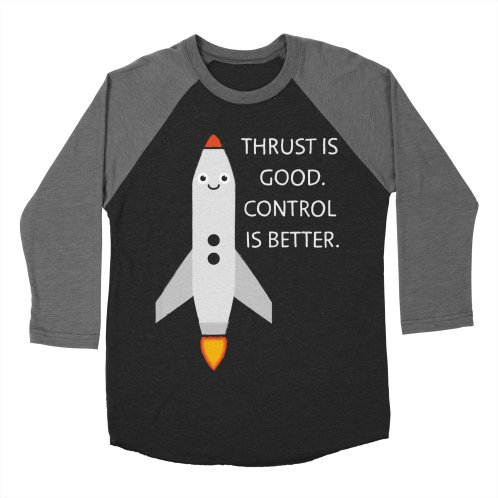 image for Thrust is good - Control is better