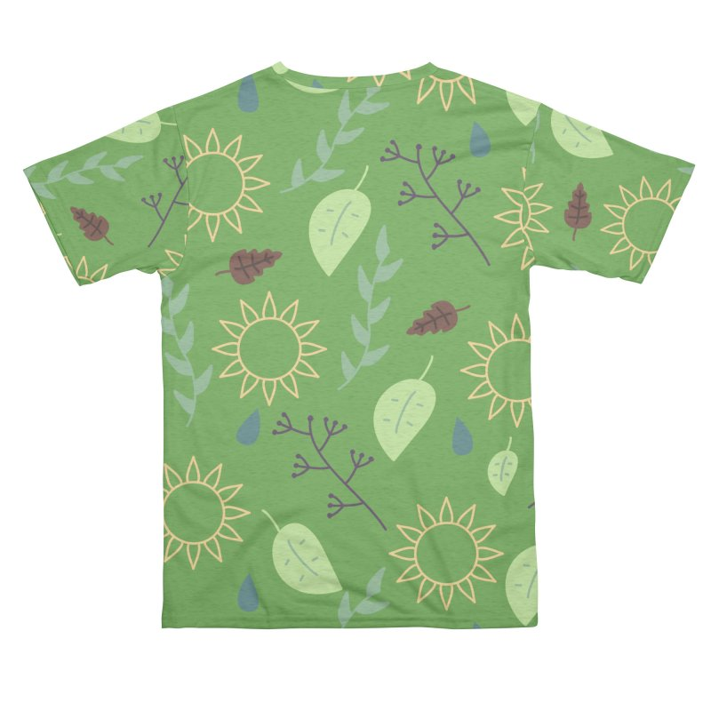 Sun Leaves and Rain Men's Cut & Sew by WeirdPeople's ArtistShop