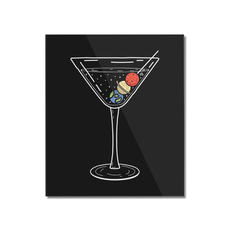Cheers to the universe in Mounted Acrylic Print by WeirdPeople's ArtistShop