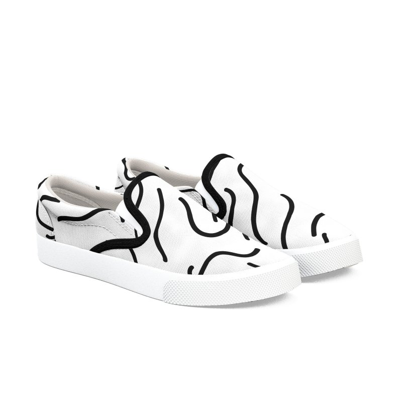 Go with the flow in Women's Slip-On Shoes by WeirdPeople's ArtistShop