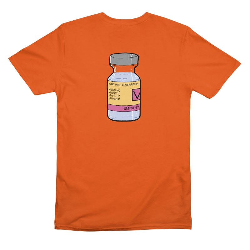 Empathy vaccine - Use with compassion Men's T-Shirt by WeirdPeople's ArtistShop
