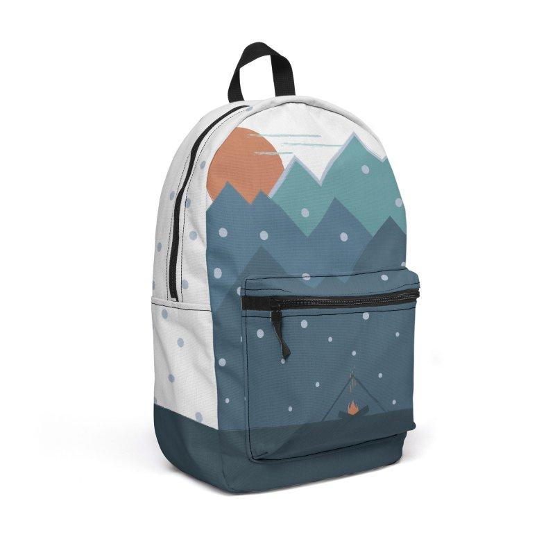 Winter dream in Backpack by WeirdPeople's ArtistShop