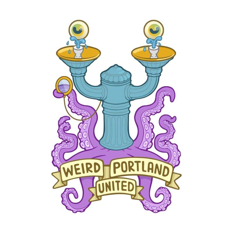 Weird Portland United Logo Shirt Men's T-Shirt by Weird Portland United Shop