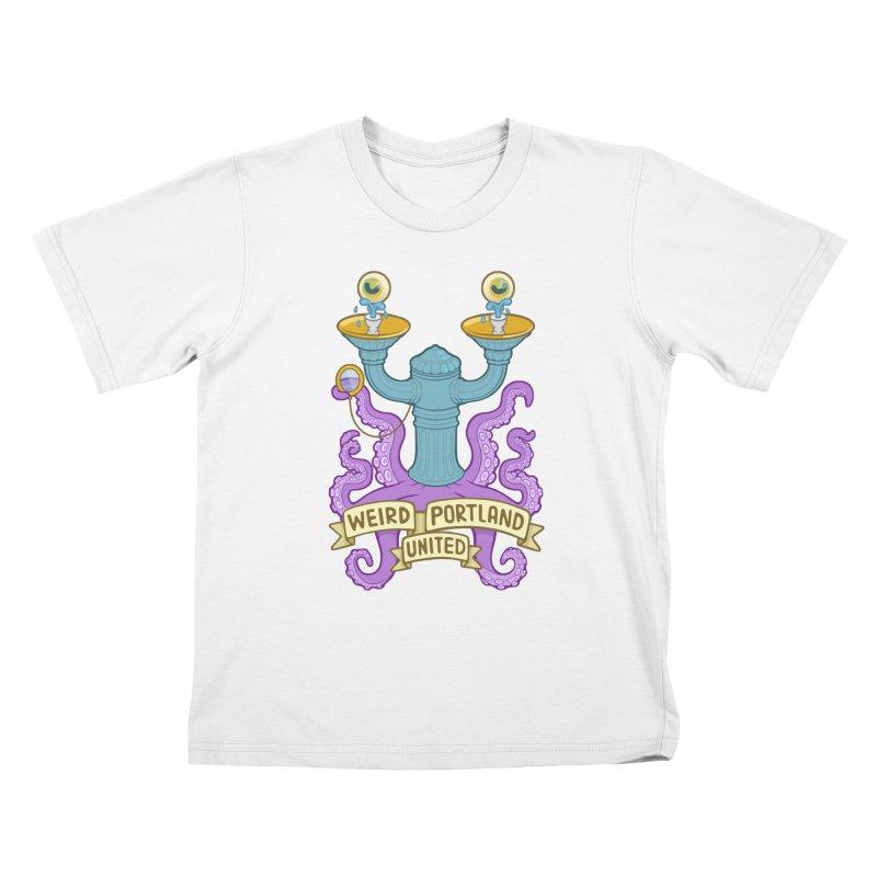 Weird Portland United Logo Shirt Kids T-Shirt by Weird Portland United Shop
