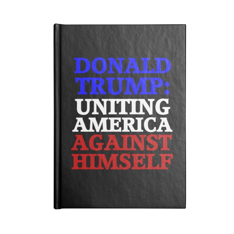Uniting America Accessories Blank Journal Notebook by Welcome to Weirdsville