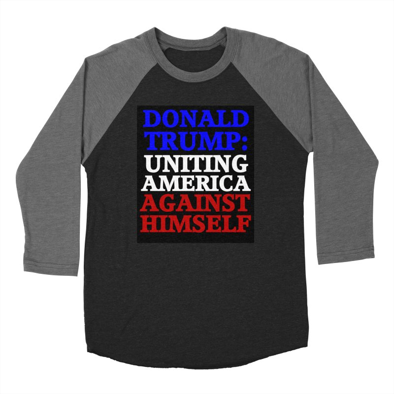 Uniting America Women's Baseball Triblend Longsleeve T-Shirt by Welcome to Weirdsville