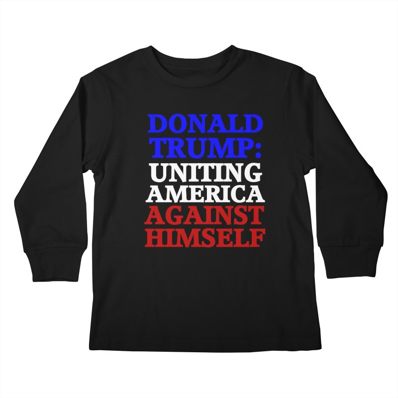 Uniting America Kids Longsleeve T-Shirt by Welcome to Weirdsville