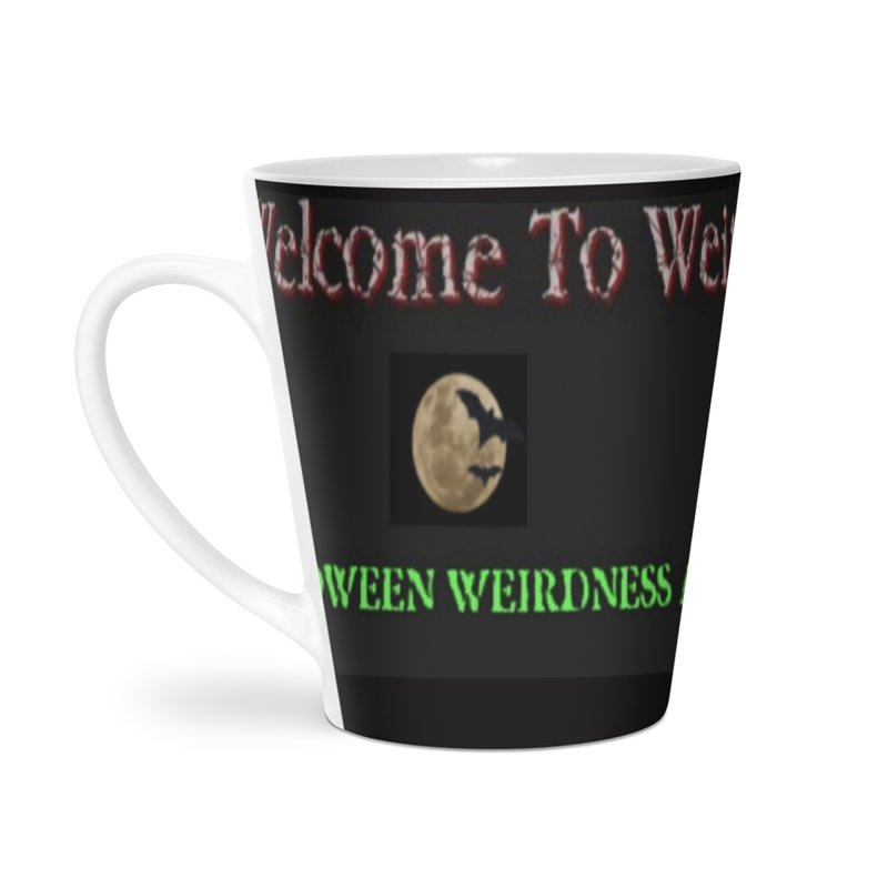 Welcome to Weirdsville Radio! Accessories Latte Mug by Welcome to Weirdsville