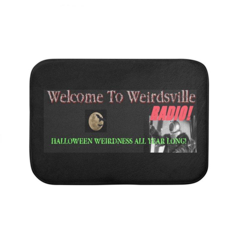 Welcome to Weirdsville Radio! Home Bath Mat by Welcome to Weirdsville