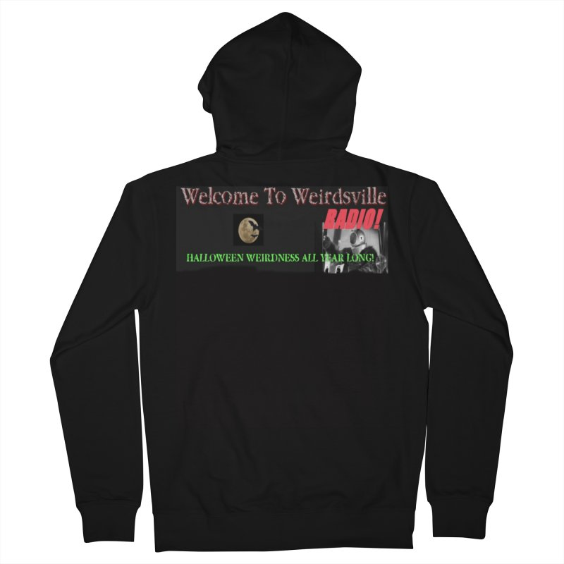 Welcome to Weirdsville Radio! Women's French Terry Zip-Up Hoody by Welcome to Weirdsville