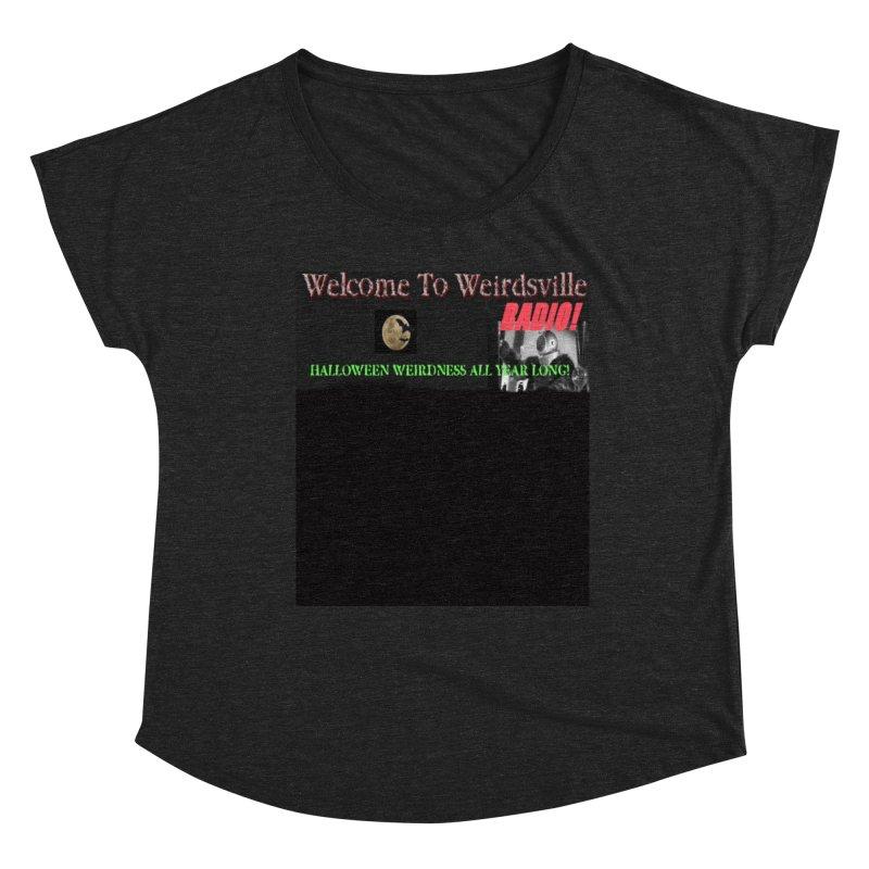 Welcome to Weirdsville Radio! Women's Scoop Neck by Welcome to Weirdsville