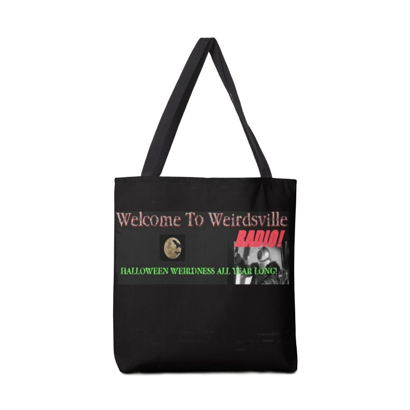 Welcome to Weirdsville Radio! Accessories Bag by Welcome to Weirdsville