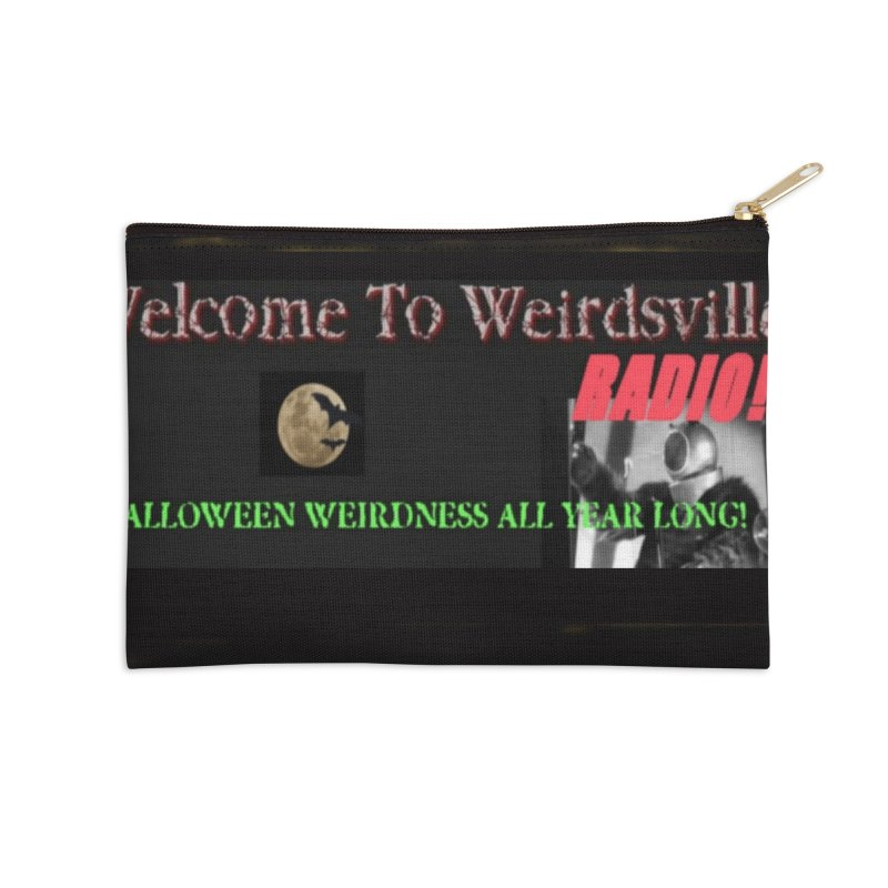 Welcome to Weirdsville Radio! Accessories Zip Pouch by Welcome to Weirdsville