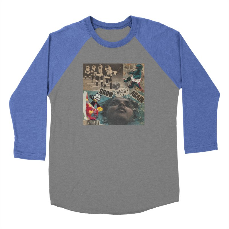 Grow Magic Again Men's Baseball Triblend Longsleeve T-Shirt by Welcome to Weirdsville