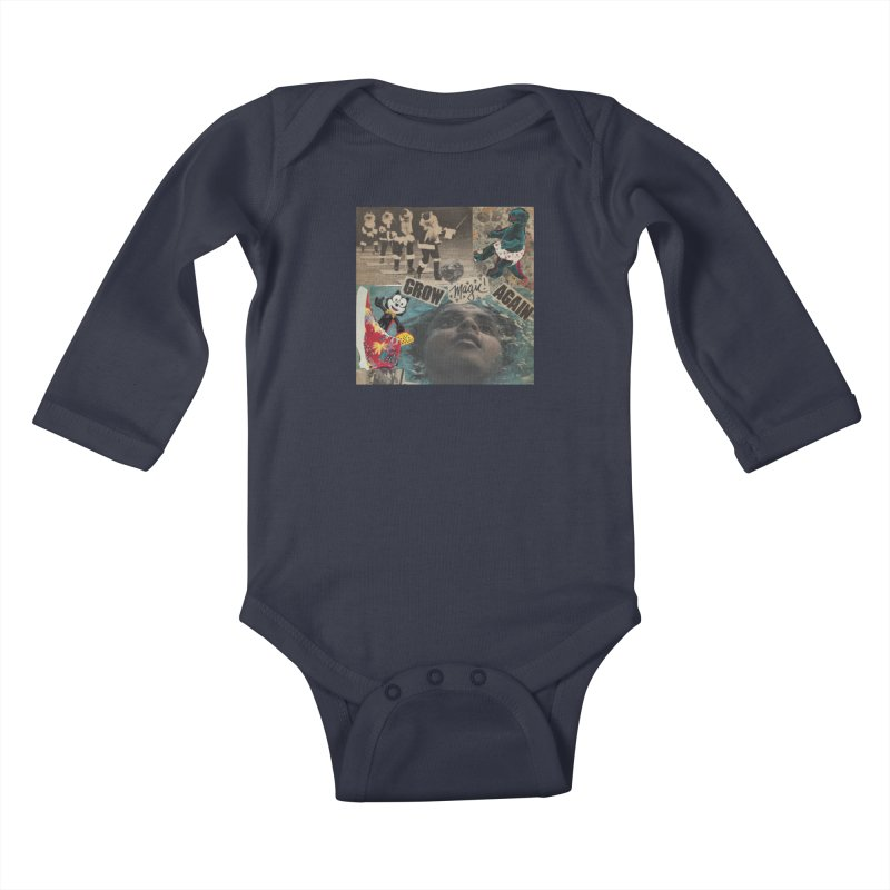 Grow Magic Again Kids Baby Longsleeve Bodysuit by Welcome to Weirdsville
