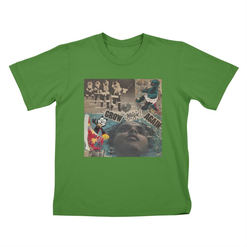 Grow Magic Again Kids T-Shirt by Welcome to Weirdsville