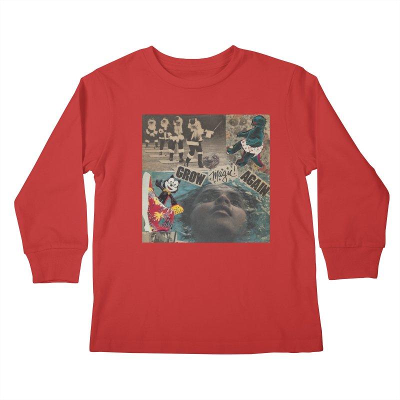 Grow Magic Again Kids Longsleeve T-Shirt by Welcome to Weirdsville