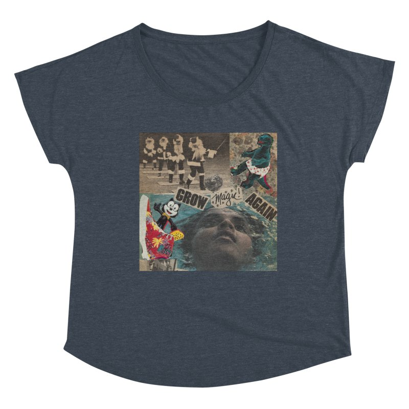Grow Magic Again Women's Scoop Neck by Welcome to Weirdsville