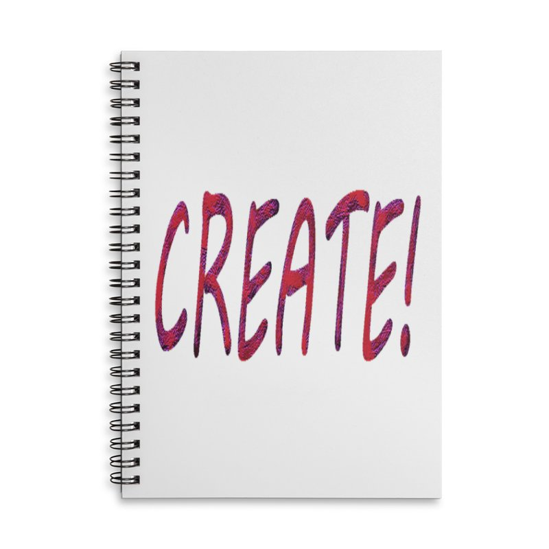 newcreate Accessories Lined Spiral Notebook by Welcome to Weirdsville