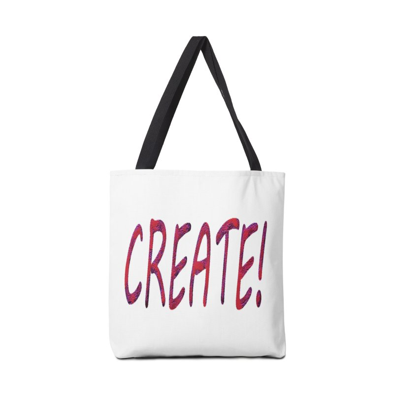 newcreate Accessories Tote Bag Bag by Welcome to Weirdsville