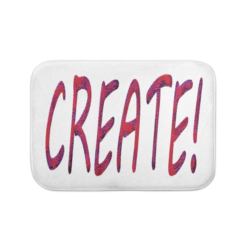 newcreate Home Bath Mat by Welcome to Weirdsville