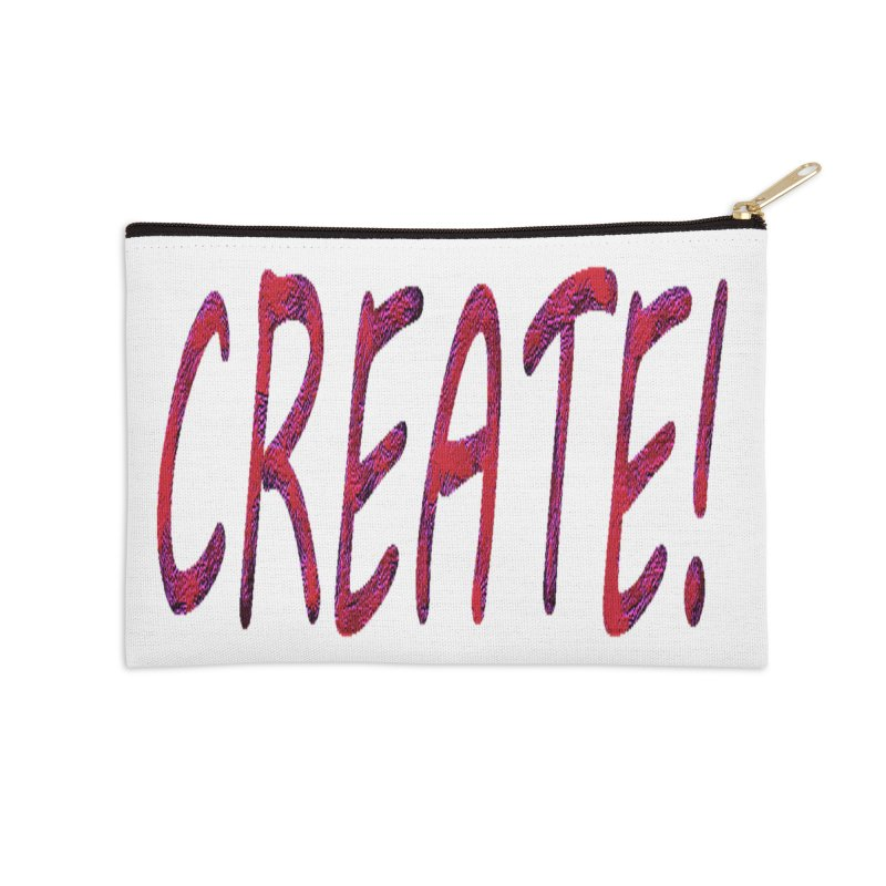 newcreate Accessories Zip Pouch by Welcome to Weirdsville