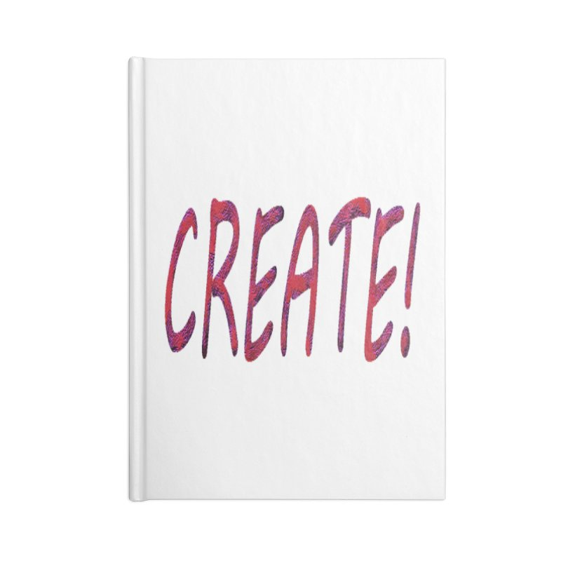 newcreate Accessories Blank Journal Notebook by Welcome to Weirdsville