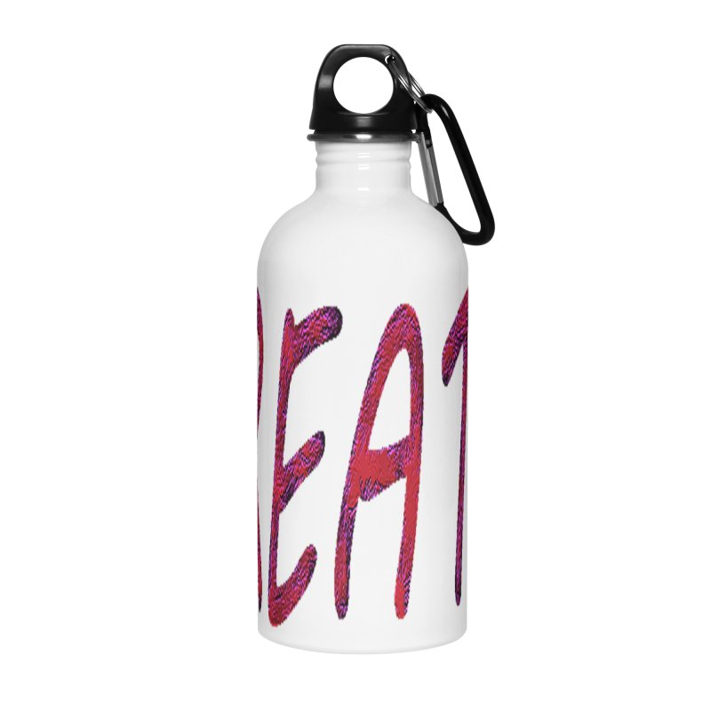 newcreate Accessories Water Bottle by Welcome to Weirdsville