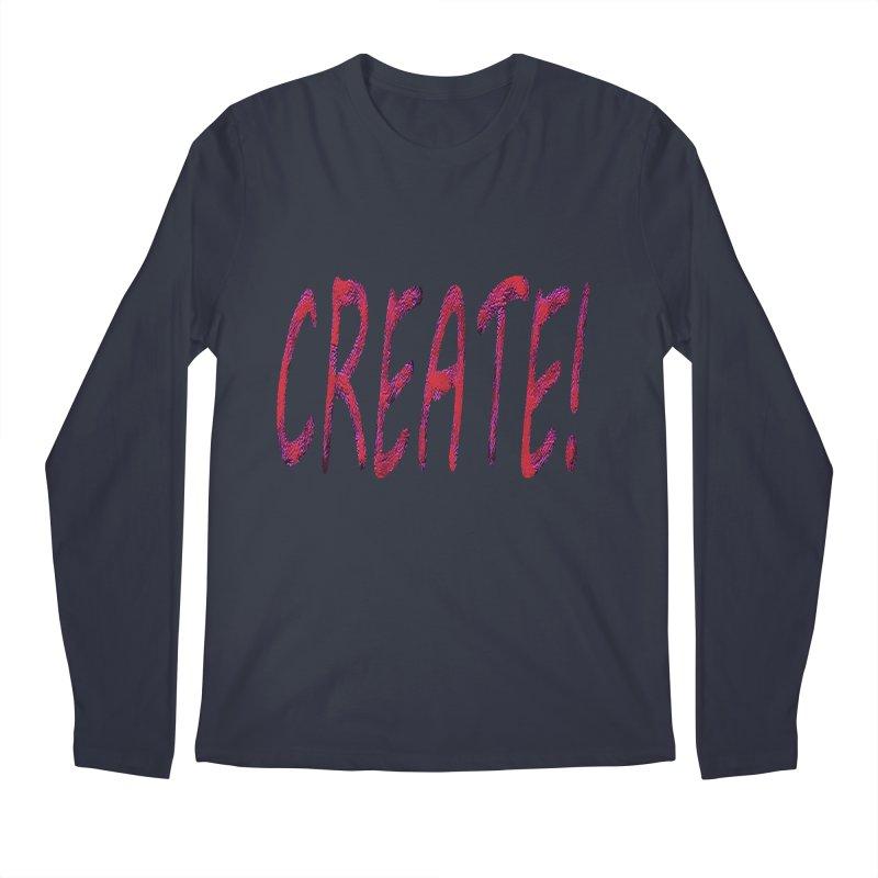newcreate Men's Regular Longsleeve T-Shirt by Welcome to Weirdsville