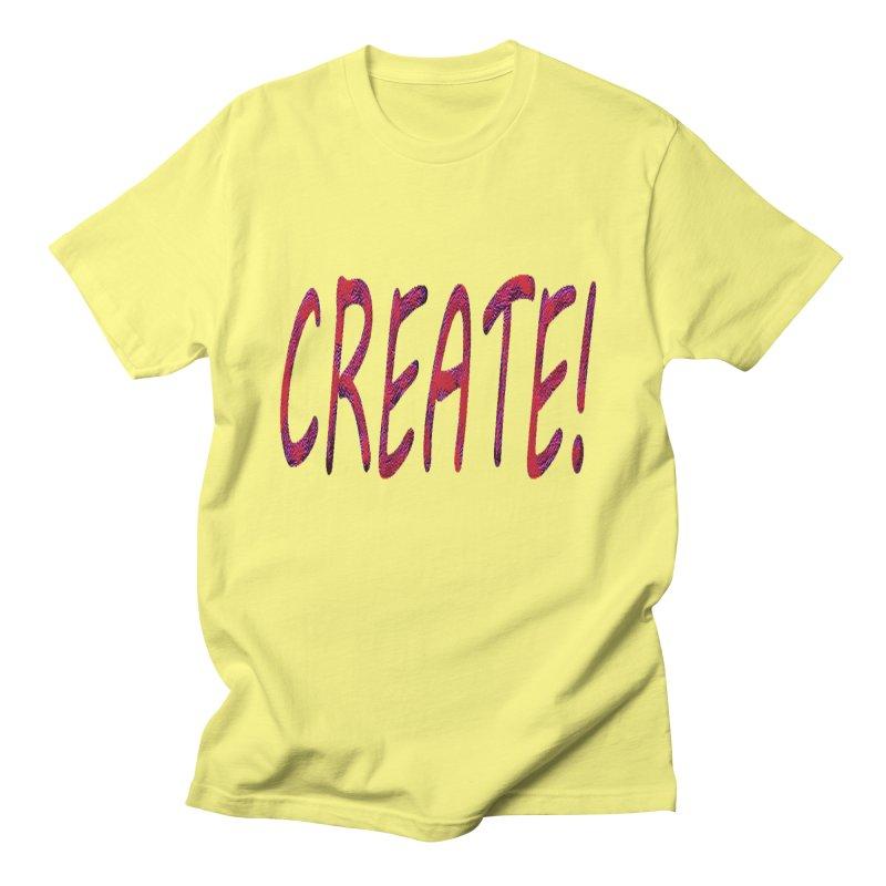 newcreate Men's Regular T-Shirt by Welcome to Weirdsville