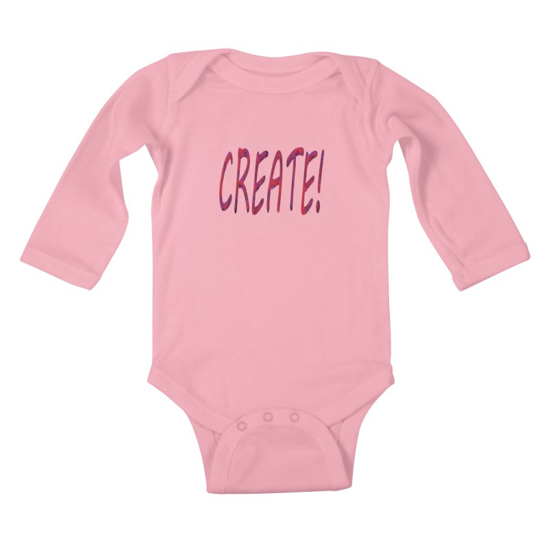 newcreate Kids Baby Longsleeve Bodysuit by Welcome to Weirdsville