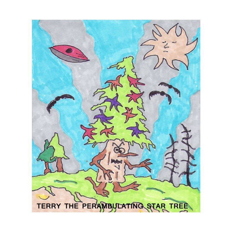 Terry the Perambulating Star Tree   by Welcome to Weirdsville