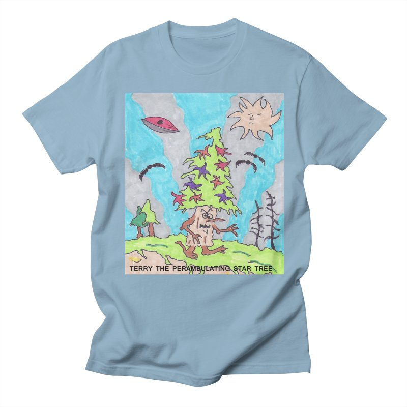 Terry the Perambulating Star Tree Women's Regular Unisex T-Shirt by Welcome to Weirdsville