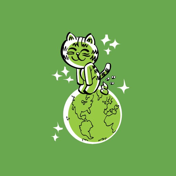 image for SHITTY WORLD (green)