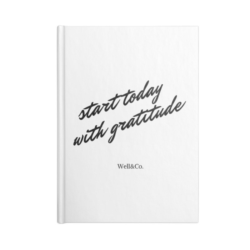 Gratitude Gear Accessories Notebook by Shop Well&Co.