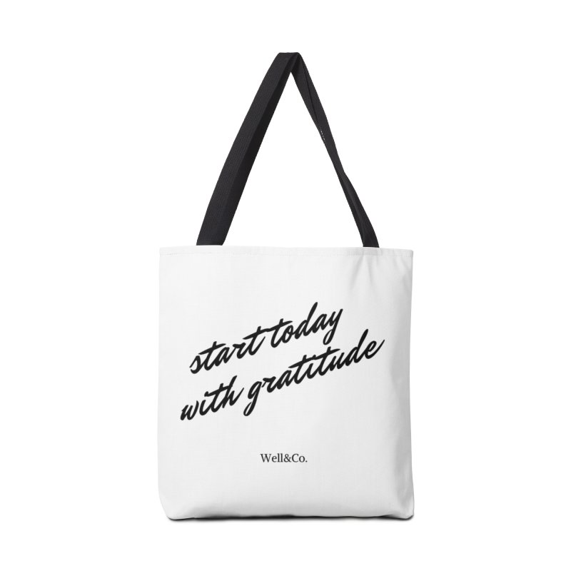 Gratitude Gear Accessories Bag by Shop Well&Co.