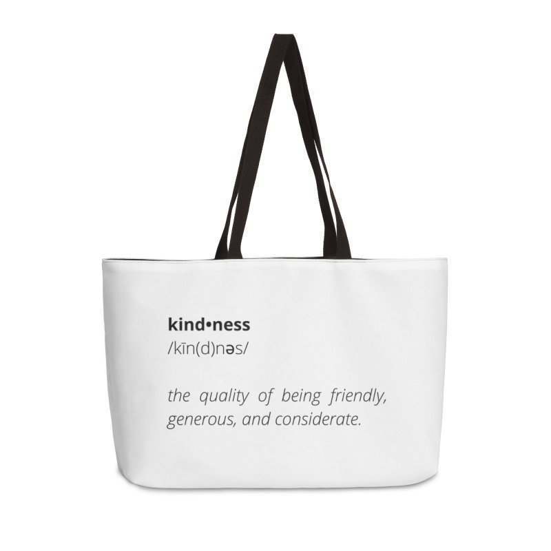 Kindness Collection Accessories Bag by Shop Well&Co.