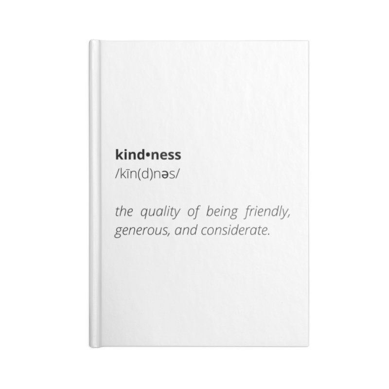 Kindness Collection Accessories Notebook by Shop Well&Co.