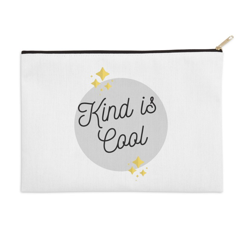 Kind is Cool Accessories Zip Pouch by Shop Well&Co.