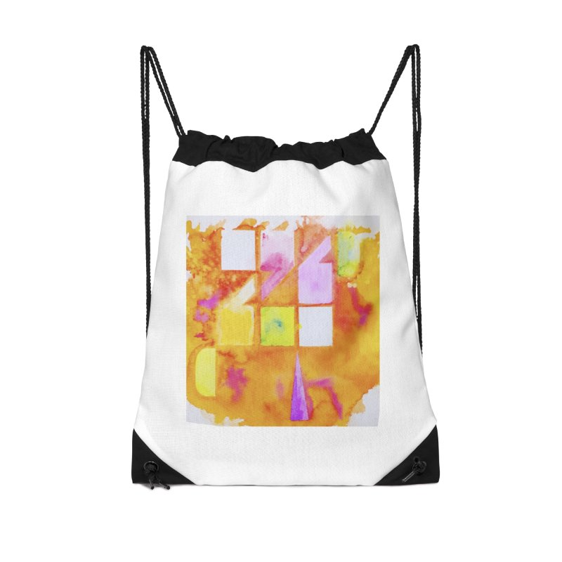 Typographic punctuation Accessories Drawstring Bag Bag by wellchosenletters' Artist Shop