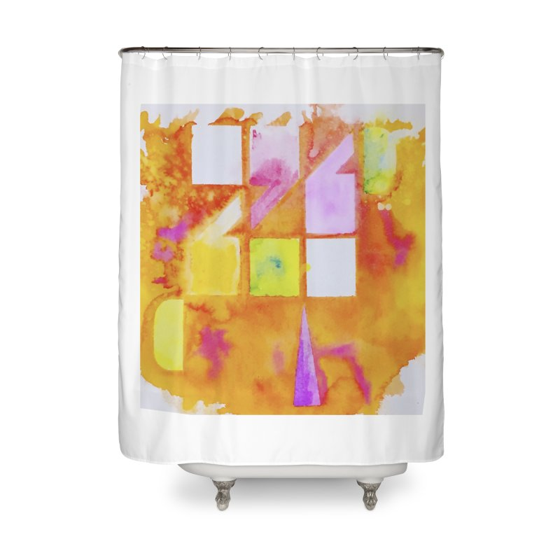 Typographic punctuation Home Shower Curtain by wellchosenletters' Artist Shop