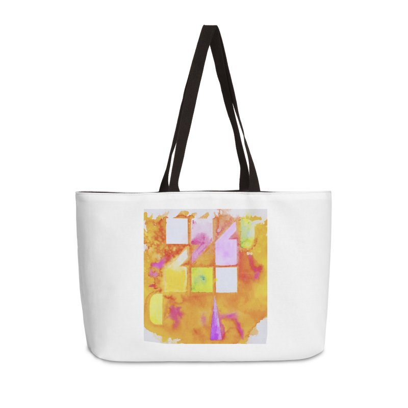 Typographic punctuation Accessories Weekender Bag Bag by wellchosenletters' Artist Shop